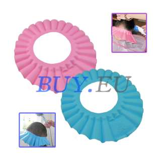 New Soft Baby kids Children Shampoo Bath Shower Cap Hat