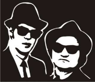 Blues Brothers Decal Sticker   Car Truck Laptop