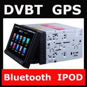 DOUBLE DIN 7 CAR RADIO DVD PLAYER GPS DVB T DIGITAL TV