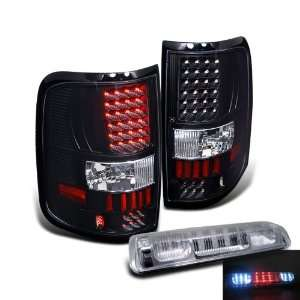 Eautolights 04 08 Ford F150 Pickup LED Tail Lights + 3rd