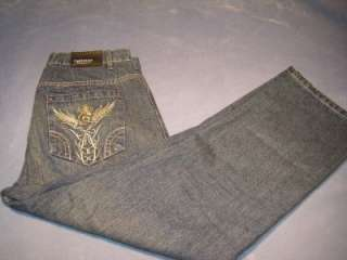 Mens Chereskin Boot Cut Jeans Size W38xL30 Great Condition #329 Denim