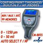 CM8855 Paint Coating Thickness Gauge Meter F/NF Probes