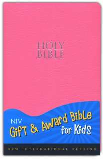 Gift & Award Bible For Kids   Girls   Pink   Leather Look   2011   NEW