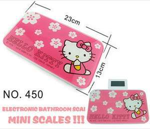 Cute Hello Kitty Mini Digtal Electronic Bathroom Scales