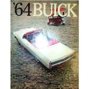 1964 BUICK Sales Brochure Literature Book Piece