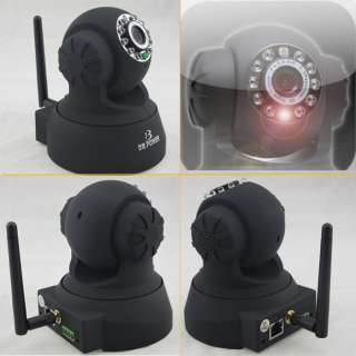 Wireless IP Security CMOS Camera Pan/Tilt 2Audio Night View