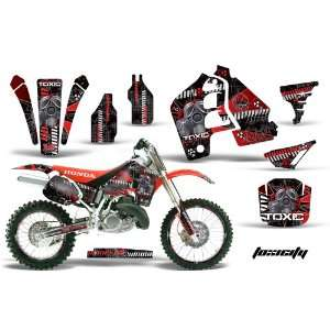 AMR Racing Honda Cr500 Mx Dirt Bike Graphic Kit   1989 2001 Toxicity