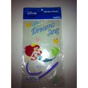 Disney Assorted Ariel Little Mermaid Gelriffic window