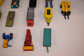 Lot of 21 Assorted Vintage Matchbox Cars by Lesney Made in England