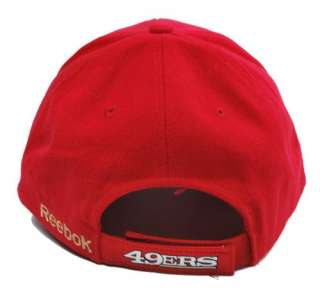Adjustable Closure Hat NFL Football San Francisco 49ERS Red