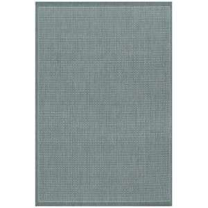 Saddle Stitch Area Rug   53 x 76   Grey, White