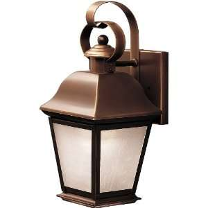 Single Light Energy Star Rated Outdoor Wall Sconc