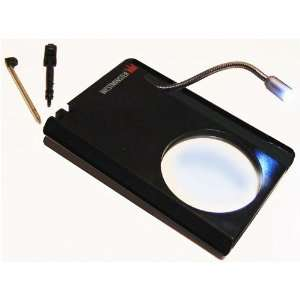 in 1 Pocket Magnifier with Mini Gooseneck LED Lamp Electronics
