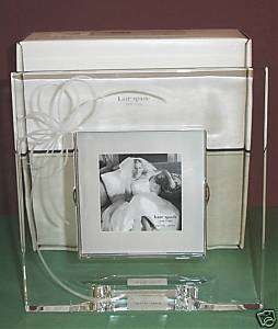 Kate Spade Belle Boulevard Picture Frame Square Crystal