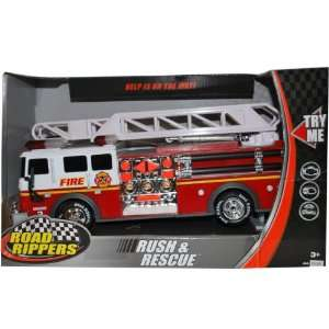 Road Rippers Rush & Rescue Fire Truck Engine 3 Toys