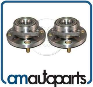 Acura CL Honda Accord w/ ABS Front Wheel Hub & Bearing Assembly Pair