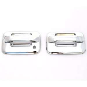 04 11 Ford F 150 (2 Doors) Chrome Door Handle Covers w/o keypad & w/o