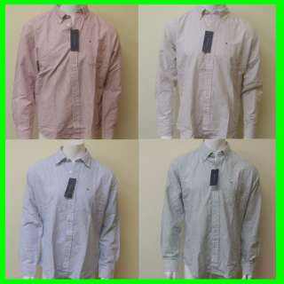 TOMMY HILFIGER DRESS SHIRT LONG SLEEVE CASUAL TOMMY SHIRT BUTTON DOWN