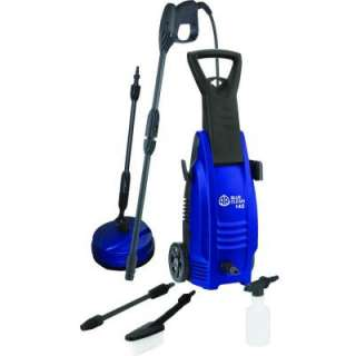 AR Blue Clean 1600 psi 1.63 GPM Portable Electric Pressure Washer with