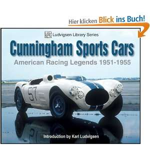 Cunningham Sports Cars American Racing Legends 1951 1955 (Ludvigsen