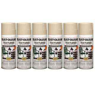 Stops Rust 12 oz.Semi Gloss Sandstone Textured Spray Paint (6 Pack