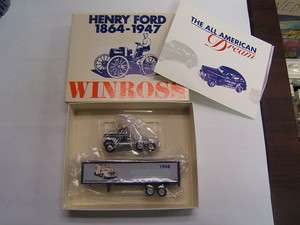 Winross Henry Ford 1948 Tractor Trailer F1 & F8 Chassis