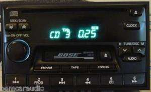 2000 Nissan Maxima Pathfinder Infiniti J30 Radio BOSE CD Player