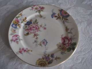 Rosenthal/Contl Ivory Floral The SUNRAY Lunch Plate EX