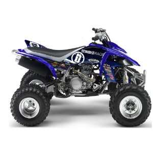 Yamaha YFZ450 DeRisi Racing ATV Graphic Kit (Blue) (2004
