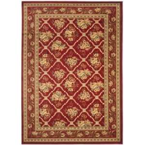 Lyndhurst   LNH556 4040 Area Rug   23 x 8   Red