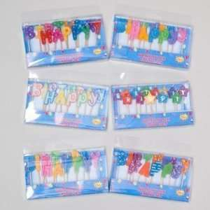 Happy Birthday Candle Picks Case Pack 72