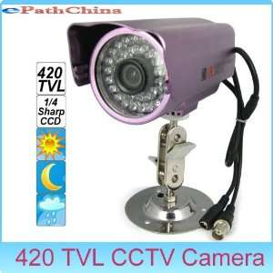 waterproof sharp ccd cctv camera with night vision