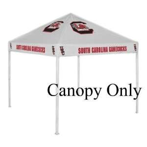 South Carolina Gamecocks USC NCAA White Replacement Canopy (No Frame)