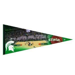 NCAA Michigan State Spartans Premium Quality Pennant 17