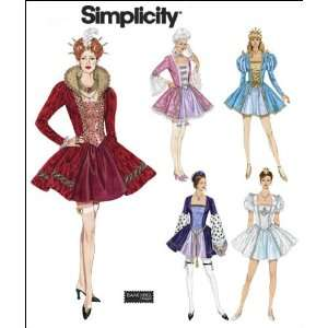 Simplicity Sewing Pattern 2832 Misses Costumes, RR (14 16