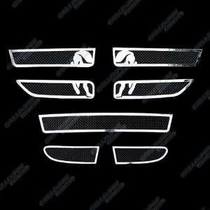 2011 2012 Dodge Journey Stainless Steel Black Mesh Grille