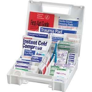 Piece Large All Purpose First Aid Kit, Plastic Case