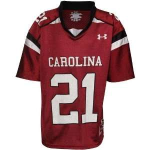 com Under Armour South Carolina Gamecocks Youth #21 Replica Football