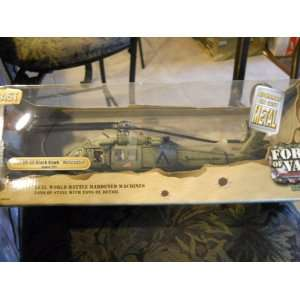 Valor Us Uh 60 Black Hawk Helicopter 148 Scale Die Cast Toys & Games