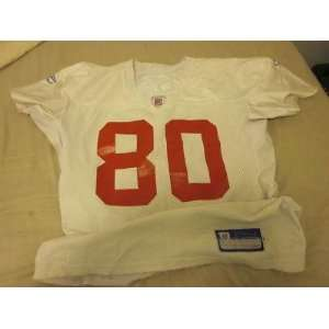 2005 New York Giants NFL Game Used Practice Jersey Jerome Shockey