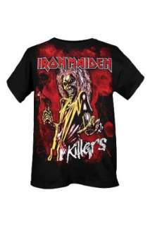 Iron Maiden Killers T Shirt Clothing