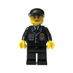 Police Officer (Black Cap)   LEGO City 2 Figure  Toys & Games