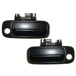 Toyota Camry Black Non  Painted Replacement 2 Outside Door Handles