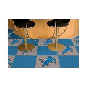 Detroit Lions   NFL Carpet Tiles Mat