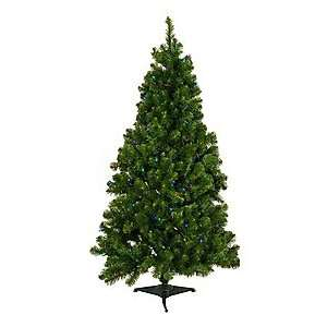 7.5 LED 5.5 MM Pre Lit Multi Artificial Tree