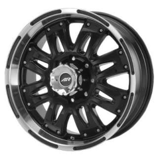 American Racing Assault AR324 Gloss Black Wheel with Machined Lip