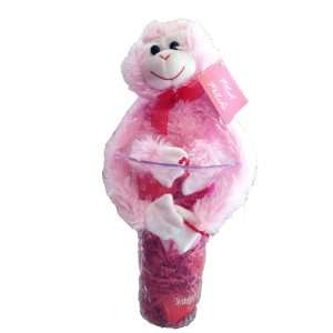 Valentines Day Gift Basket   Make Her Smile Teddy Bear, Vase, Candy