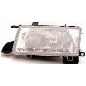 91 94 TOYOTA TERCEL HEADLIGHT LH (DRIVER SIDE), Composite Type, DX/LE