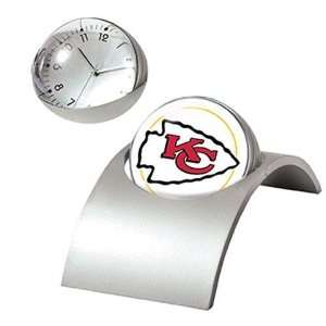 Kansas City Chiefs NFL Spinning Desk Clock