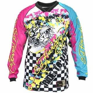 CHRISTIAN AUDIGIER Ed Hardy Platinum Phoenix Mens Long Sleeve T Shirt